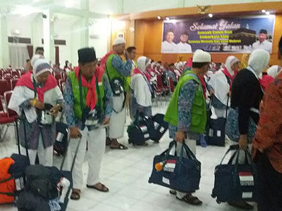 Jamaah Haji Kloter 20 Siap Berangkat Ke Tanah Suci
