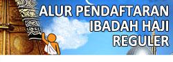 Alur Pendaftaran Ibadah Haji Reguler